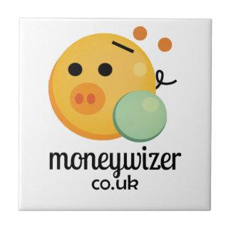 Moneywizer Azulejo Cuadrado Pequeño