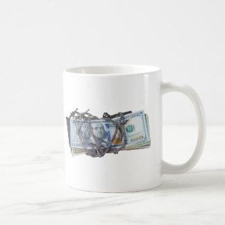 MoneyWrappedBarbedWire052414.png Coffee Mug