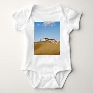 Monferrato under a blue sky baby bodysuit