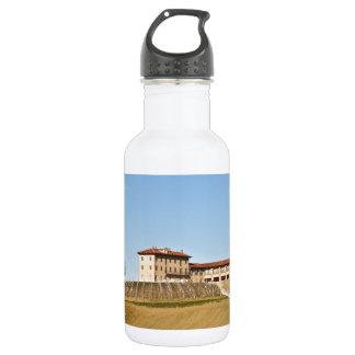 Monferrato under a blue sky water bottle