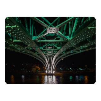 Mong Bridge, Ho Chi Minh City, Vietnam Card