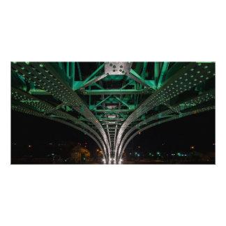 Mong Bridge, Ho Chi Minh City, Vietnam Photo Card