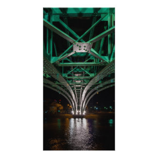 Mong Bridge, Ho Chi Minh City, Vietnam Customized Photo Card