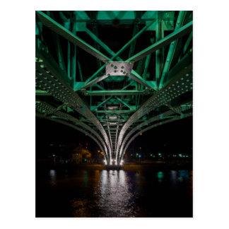 Mong Bridge, Ho Chi Minh City, Vietnam Postcard