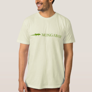 Mongabay brand t-shirt (green border)