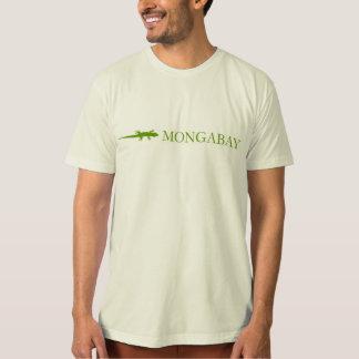 Mongabay brand t-shirt (green border)