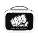 Mongo Angry Mongo Smash Fist Lunchboxes