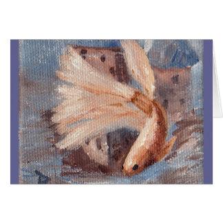 Mongo Betta Fish Card