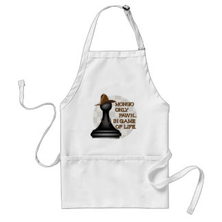 Mongo only pawn in game of life. adult apron