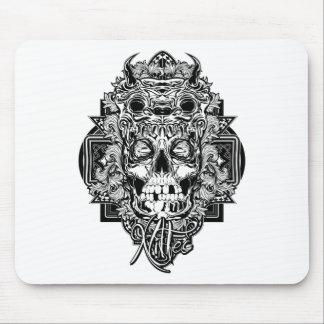 Mongo Skull Mouse Pad