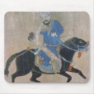 Mongol archer on horseback mouse pad