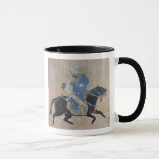 Mongol archer on horseback mug