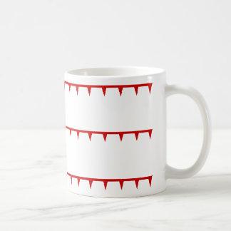 Mongol Empire Flag Classic White Coffee Mug