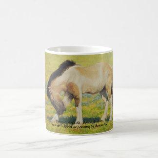 Mongol Horse #3- Young Stallion Coffee Mug