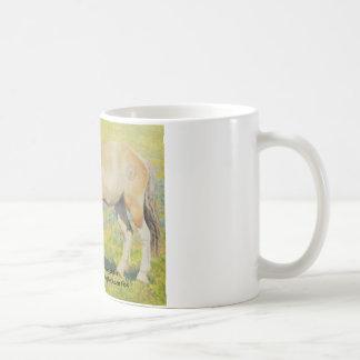 Mongol Horse #3- Young Stallion Coffee Mugs