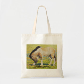 Mongol Horse #3- Young Stallion Tote Bag