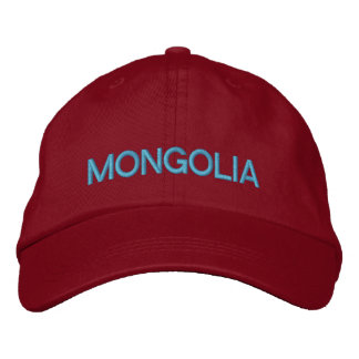 Mongolia Adjustable Baseball Hat