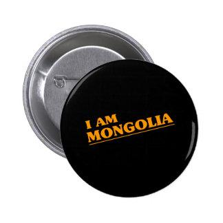 MONGOLIA PINBACK BUTTONS