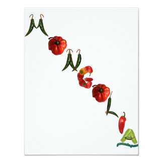Mongolia Chili Peppers Card