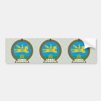 Mongolia Coat of Arms detail Bumper Sticker