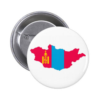mongolia country flag map shape symbol button