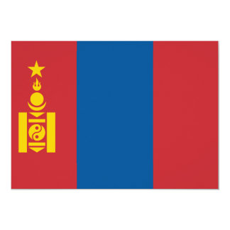 Mongolia Flag Card