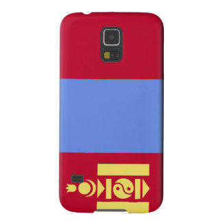 Mongolia Flag Case For Galaxy S5