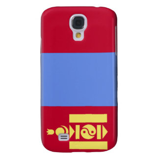 Mongolia Flag Samsung Galaxy S4 Covers