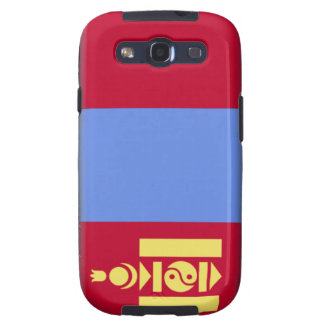 Mongolia Flag Galaxy SIII Covers