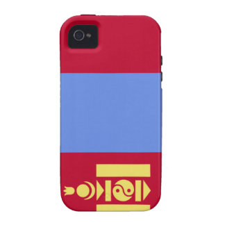 Mongolia Flag Case-Mate iPhone 4 Cover