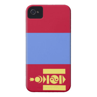 Mongolia Flag Case-Mate iPhone 4 Cases