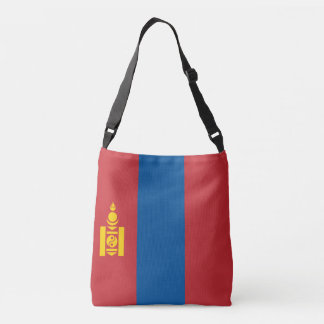 Mongolia Flag Crossbody Bag