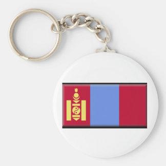 Mongolia Flag Key Chains
