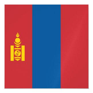 Mongolia Flag Magnetic Card
