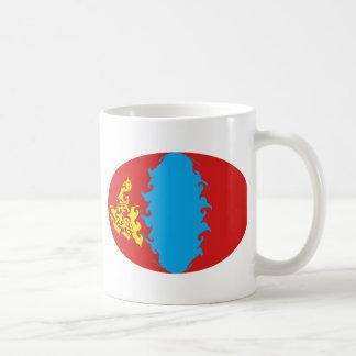 Mongolia Gnarly Flag Mug