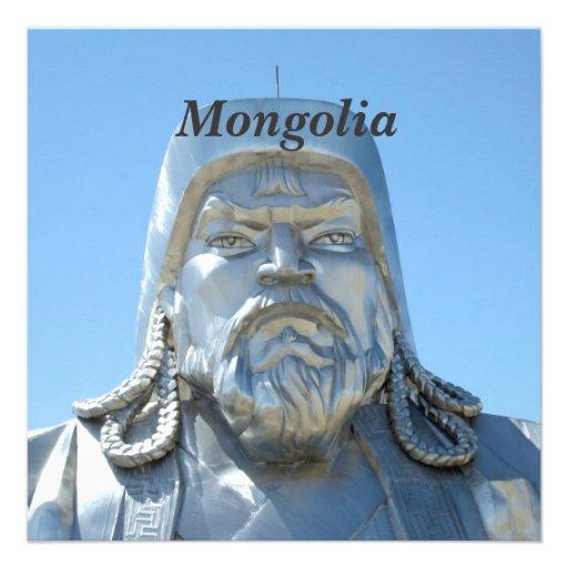 Mongolia Custom Invitations