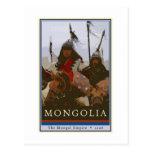 Mongolia Post Card