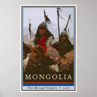 Mongolia Póster