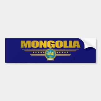 Mongolia Pride Bumper Sticker