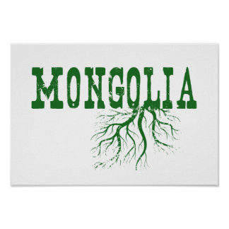 Mongolia Roots Poster