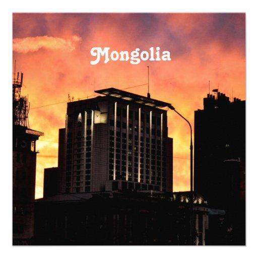 Mongolia Skyline Announcement