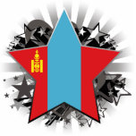 Mongolia Star Cut Outs