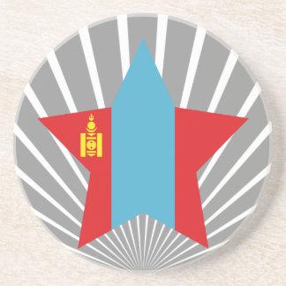 Mongolia Star Drink Coaster