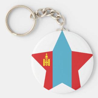 Mongolia Star Keychains