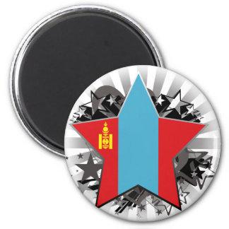 Mongolia Star Magnets