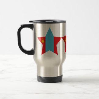 Mongolia Star Mugs