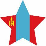 Mongolia Star Photo Sculpture