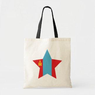 Mongolia Star Tote Bags