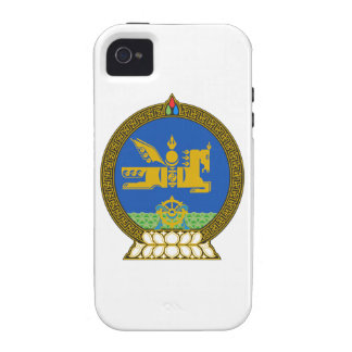 Mongolia State Emblem Vibe iPhone 4 Cases