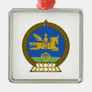 Mongolia State Emblem Metal Ornament